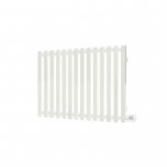 Terma Triga E Designer Electric Radiator - White 400w (480 x 560mm)
