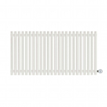 Terma Tune E Designer Electric Radiator - White 1000w (1190 x 600mm)