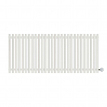 Terma Tune E Designer Electric Radiator - White 1000w (1390 x 600mm)