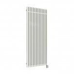 Terma Triga E Vertical Designer Electric Radiator - White 1000w (480 x 1700mm)