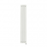 Terma Tune E Vertical Designer Electric Radiator - White 600w