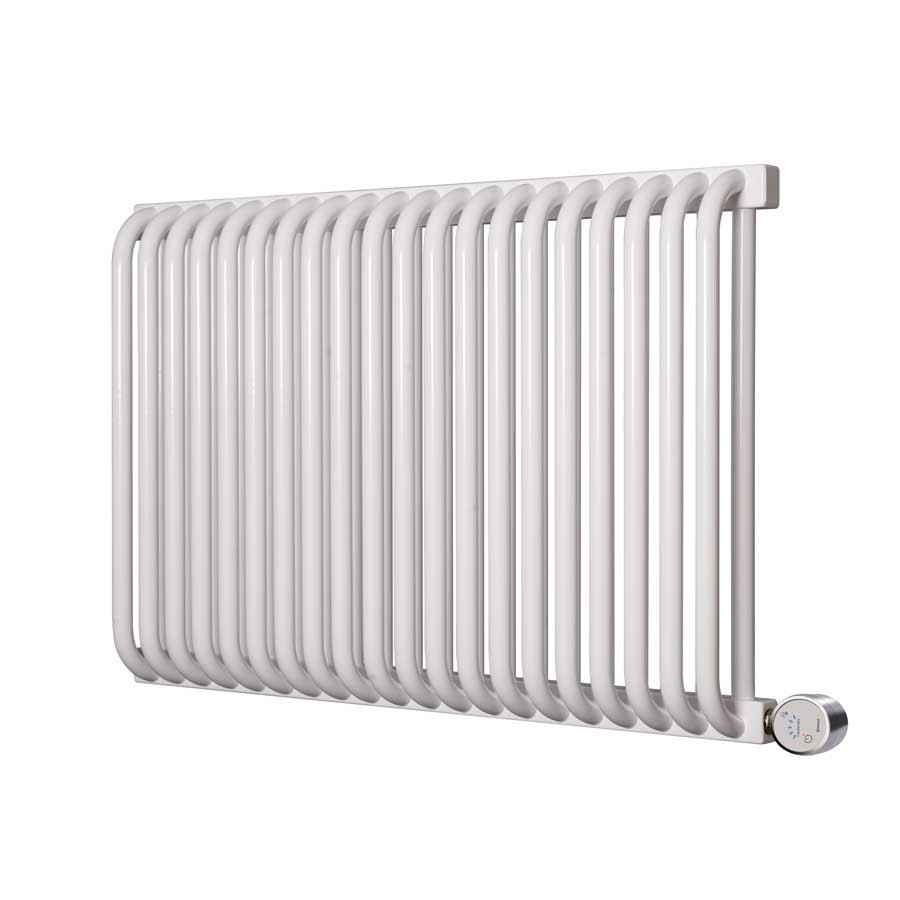 Buy Electric Radiators With Free Delivery Wiring Towel Rail Terma Delfin E White