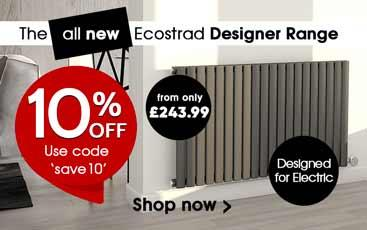 10% off Ecostrad electric radiators