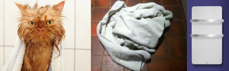No-one likes a soggy towel
