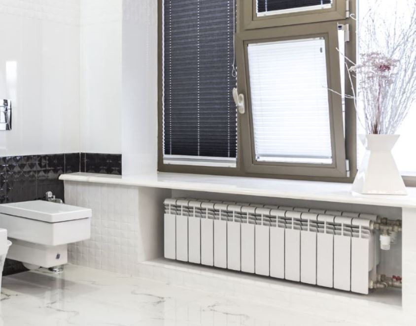 A perfect space for a conservatory radiator