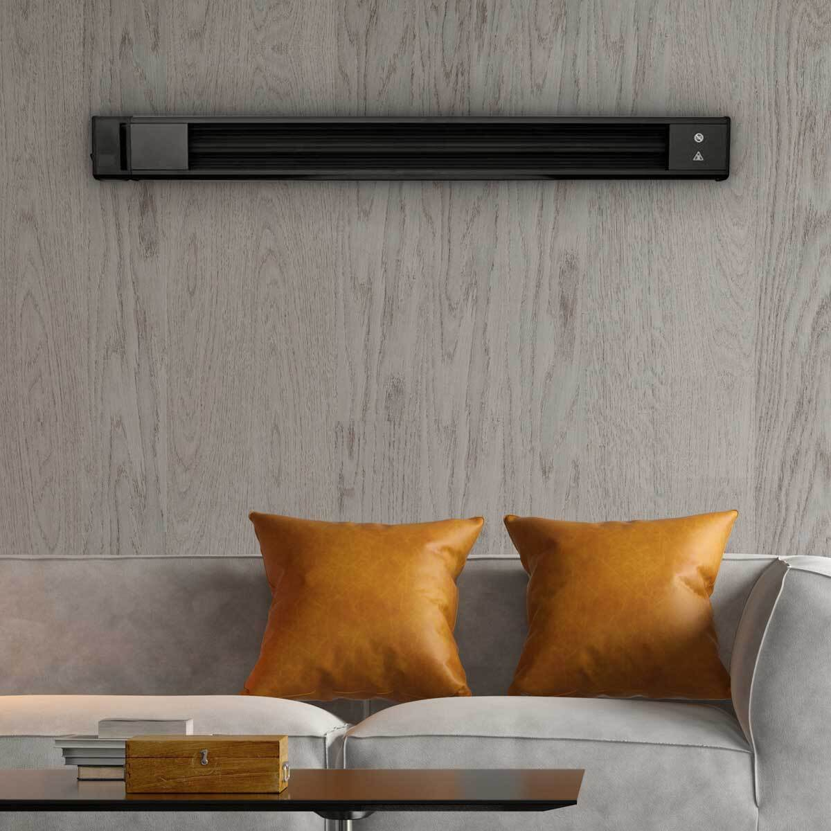 ecostrad Thermostrip on wall