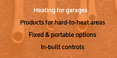 Heating for garages