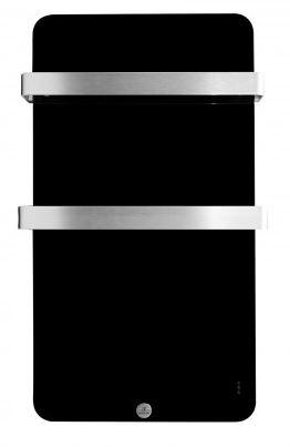 Ecostrad Magnum Heated Electric Towel Rail - Black 400W (480 x 840mm)