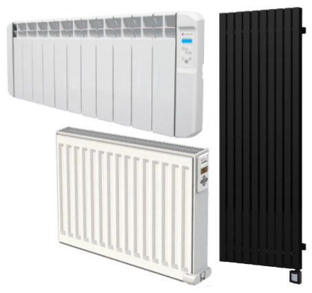 Collection of electric radiators