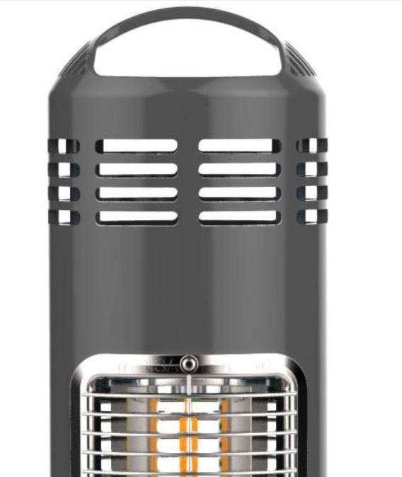 Mensa Heating Imus Under Table Infrared Heater – Grey 550w