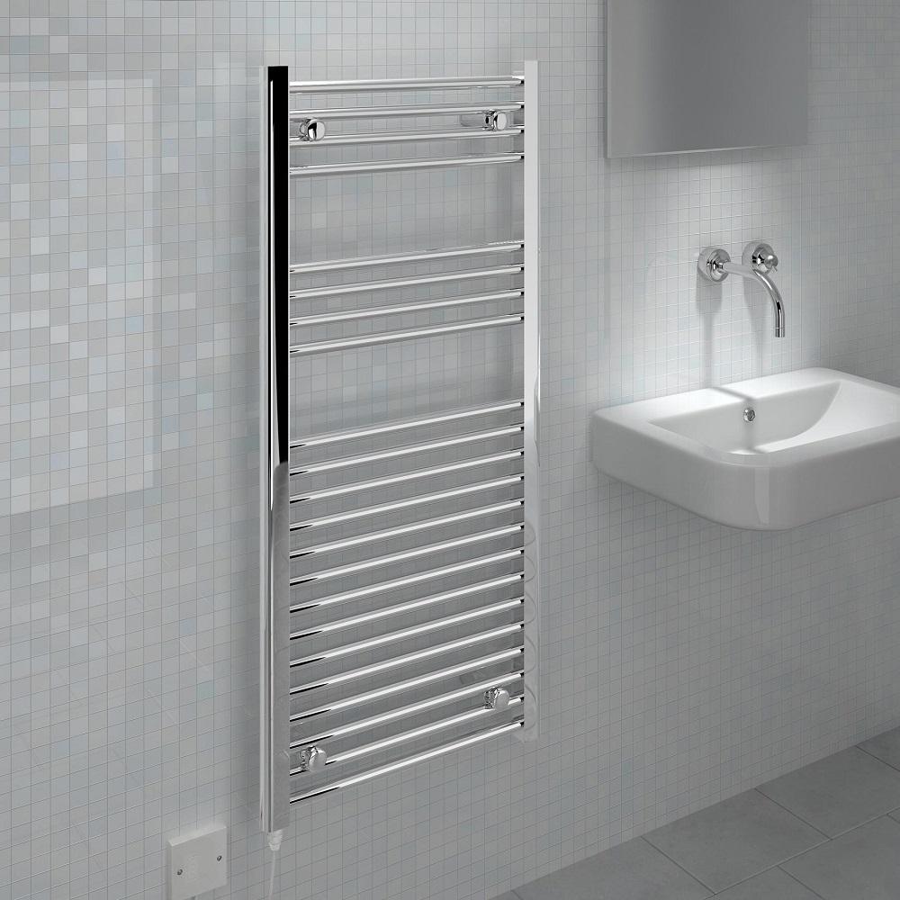 Electric Bathroom Towel Heaters: Bathroom Radiators: Electric Vs Central Heating