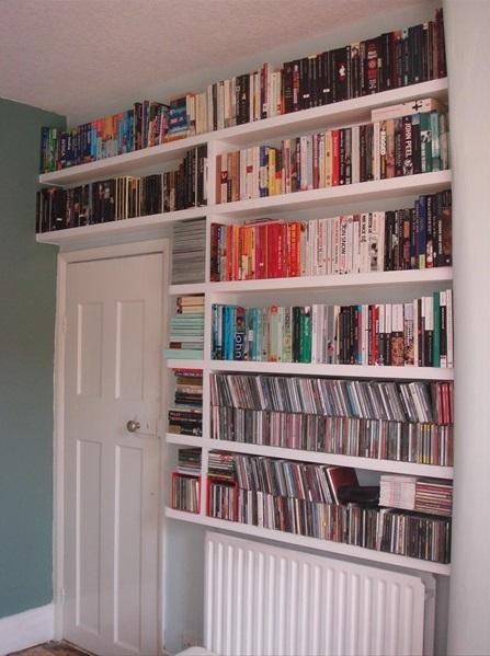 Building a shelf over your radiator