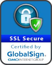 SSL secure certified by Gloablsign
