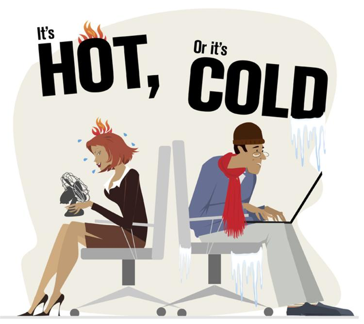 Too Hot or Cold?