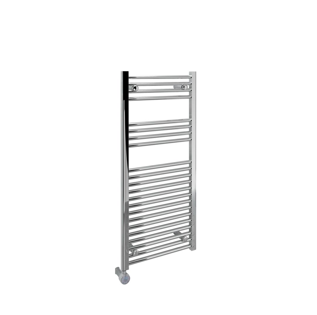 Oil filled electric towel rails for bathrooms - With Thermostat