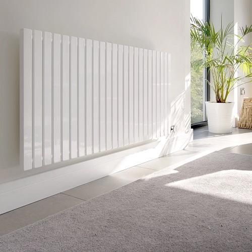 Ecostrad Adesso horizontal electric radiator white