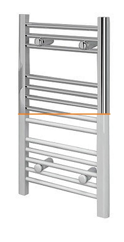 White or Chrome towel rails?