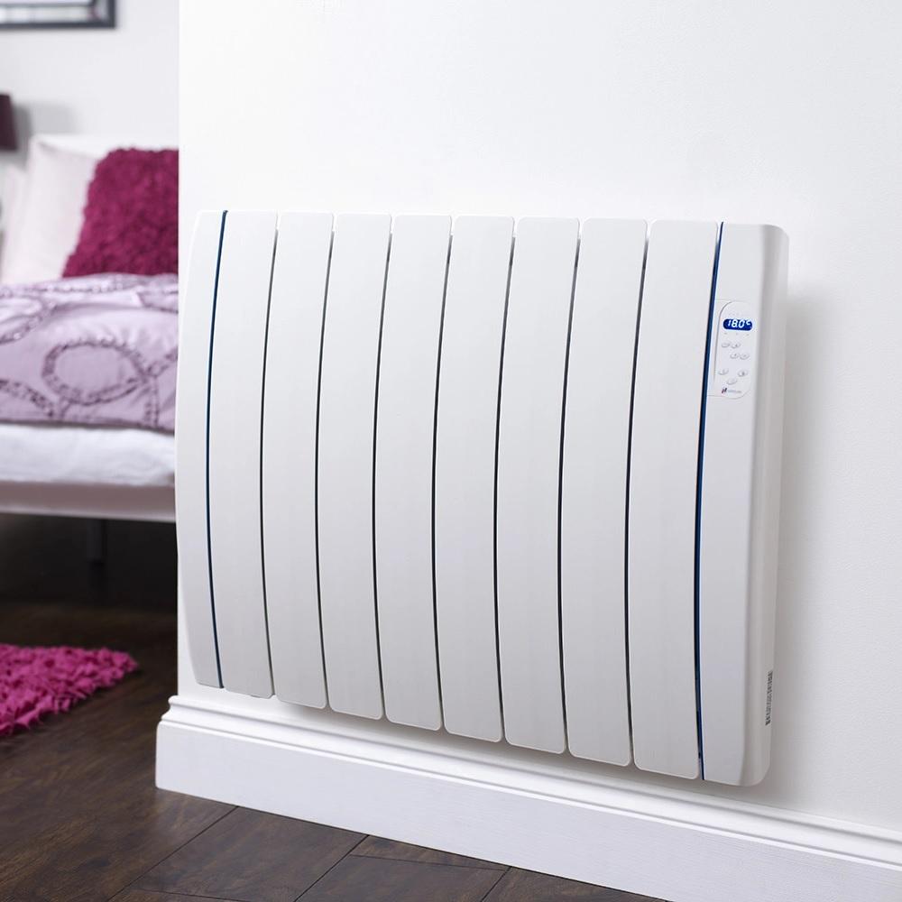 Haverland Designer TT electric radiator on wall