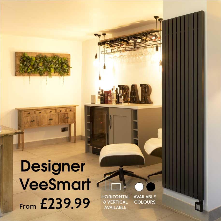 ecostrad veesmart designer electric radiators range
