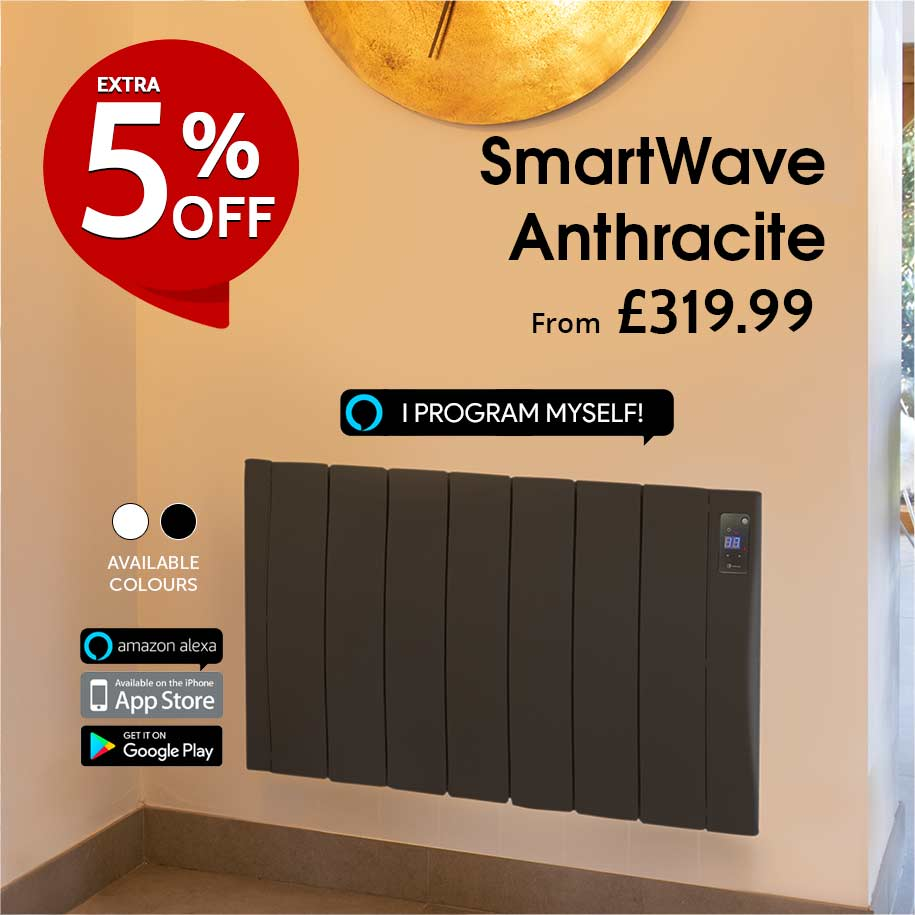 haverland smartwave anthracite electric radiators