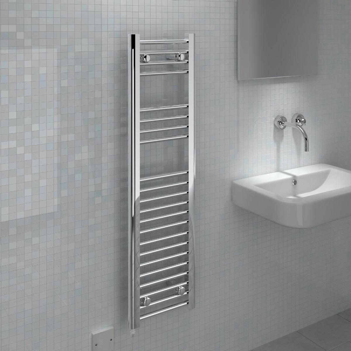 Fina-E 150W electric towel rail