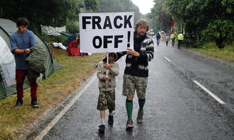 Frack off Fracking