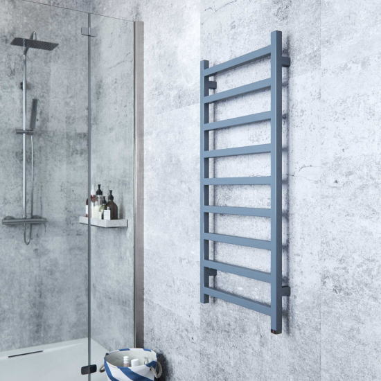 Terma Simple ONE Designer Electric Towel Rails - Blue