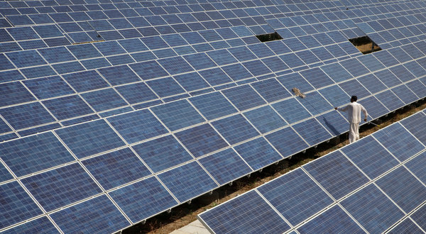 Solar power: sustainable electricity