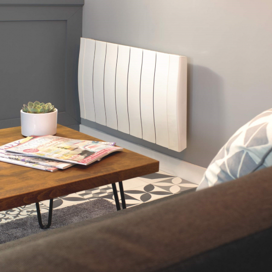 Haverland Designer RC Wave+ Electric Radiator - White