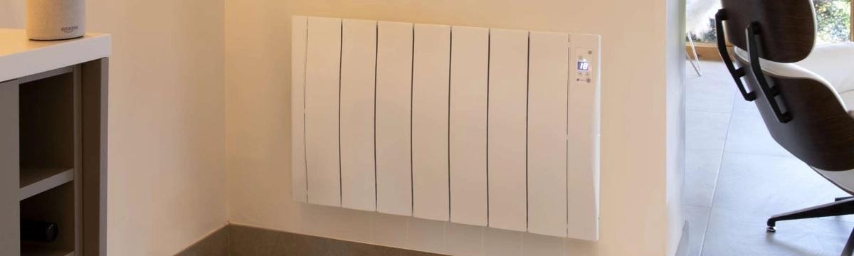 Haverland SmartWave electric radiator on wall