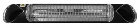 Ecostrad Thermaglo Infrared Patio Heater - Black 2kW