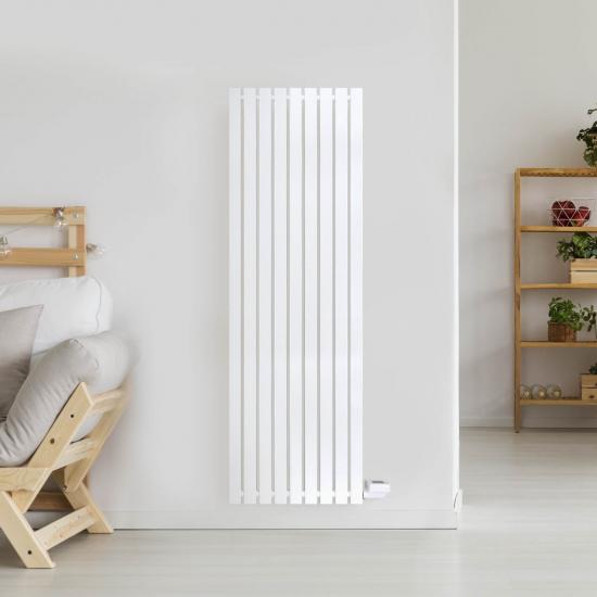 Ecostrad VeeSmart Vertical Designer Electric Radiators – White