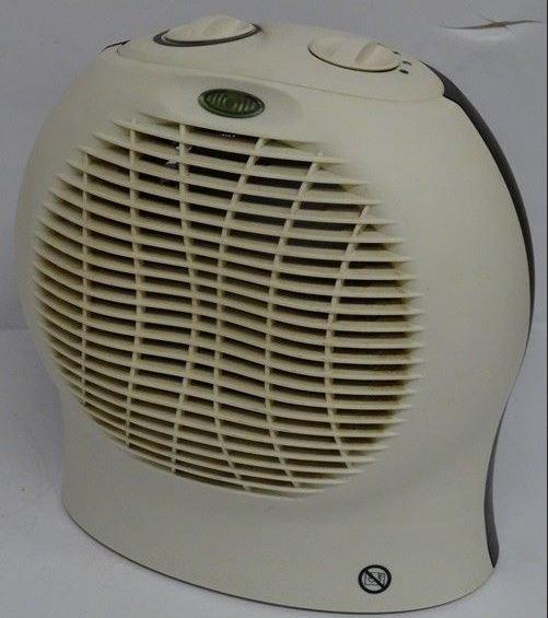 Yellowed Fan Heater